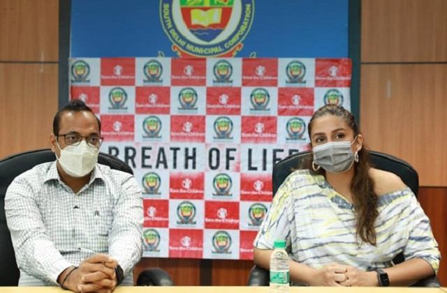 huma qureshi 100 bed covid facility set up in delhi