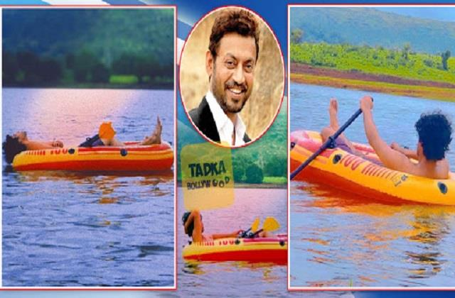 babil khan shares photos private lake which dad irrfan khan left for him