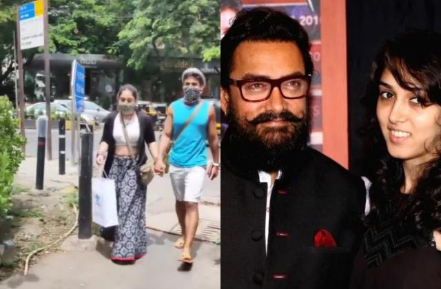 aamir khan daughter ira spotted with boyfriend nupur shikhare users trolled her