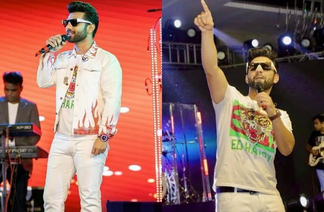 singer rahul vaidya shares his stage performance photos
