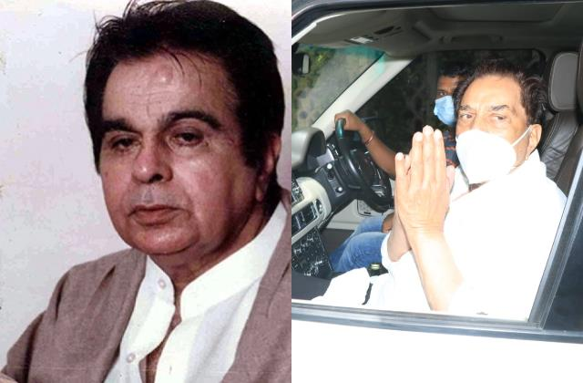 shabana azmi reached at dilip kumar house for pay tribute to actor