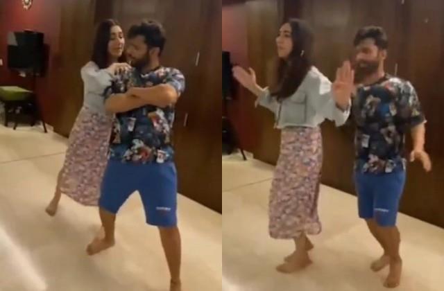 शादी में होने वाली दुल्हनियां दिशा परमार संग जबरदस्त ठुमके लगाएंगे राहुल वैद्य, सामने आया डांस रिहर्सल का वीडियो