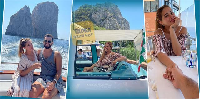 बॉयफ्रेंड संग इटली में वेकेशन एंजॉय कर रहीं नरगिस फाखरी, सामने आईं कपल की रोमांटिक तस्वीरें