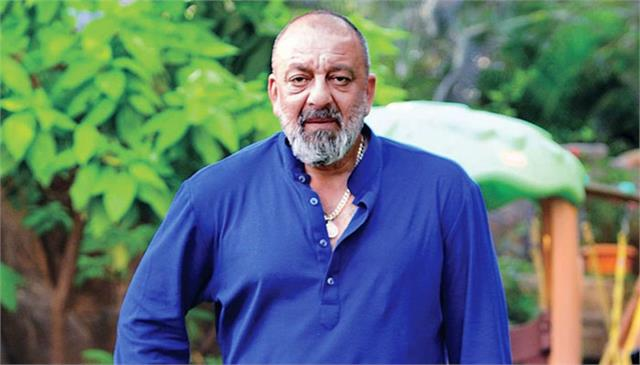 a new look of sanjay dutt from kgf 2 on his bdy