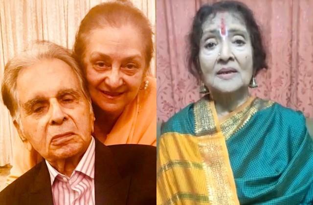 vyjayanthimala send emotional message to saira banu on the death of dilip kumar