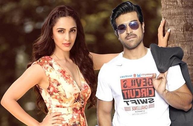 kiara advani will seen film  rc 15  with ram charan