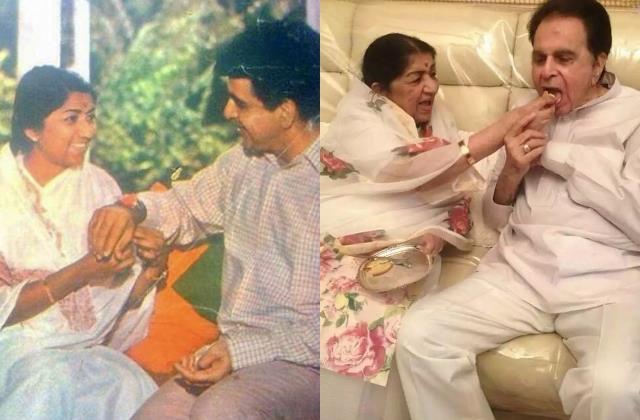 lata mangeshkar mourns rakhi brother dilip kumar death