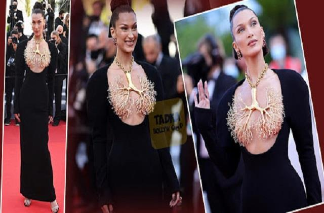 bella hadid steal limelight with her at cannes film festival