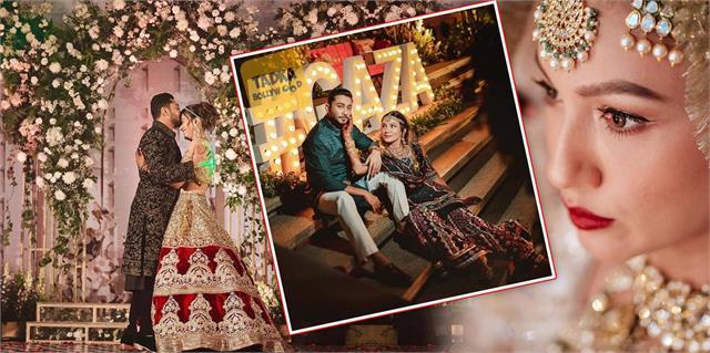 gauahar khan and zaid darbar marriage completes 7 months