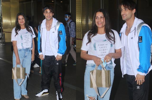 चंडीगढ़ में बर्थडे सेलिब्रेट कर हिमांशी संग मुंबई लौटे आसिम, एयरपोर्ट पर कपल का दिखा स्टाइलिश अंदाज