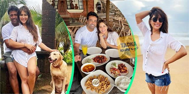 kim sharma holiday with leander paes in goa spark dating rumours