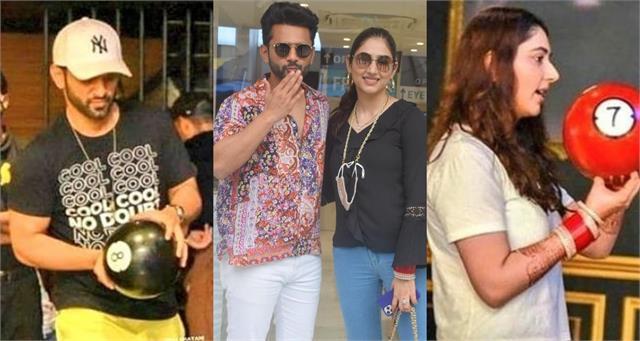 disha parmar went shopping with rahul vaidya