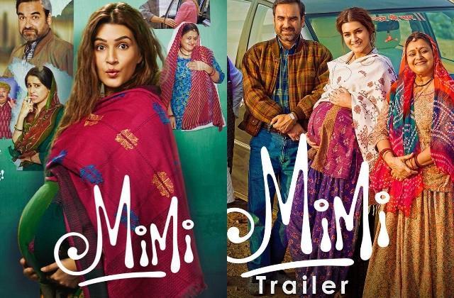 kriti sanon film mimi trailer released