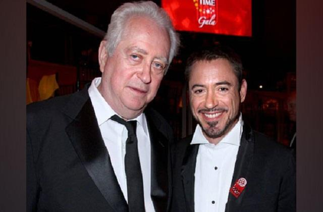 robert downey jr father passed away
