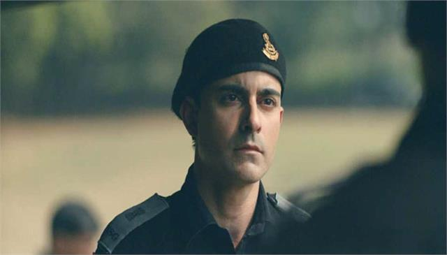 gautam rode powerful character in web series state of siege