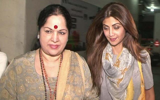 shilpa shetty mother sunanda filed complaint in fraud case