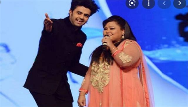 manish paul and bharti singh share podcast bts video