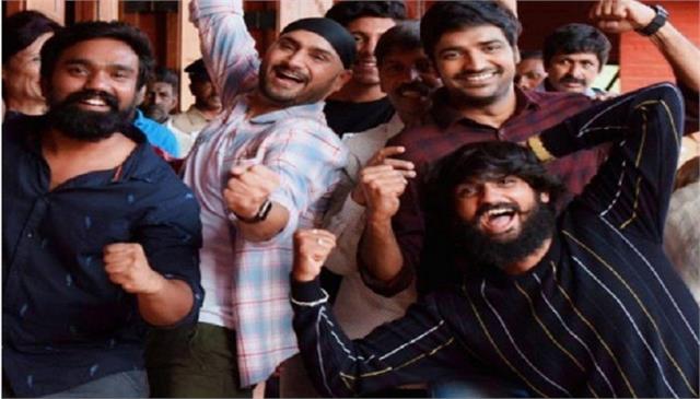 harbhajan singh wraps up shooting for his debut film friendship
