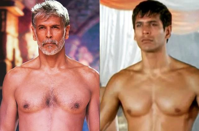 milind soman shares his transformation photos