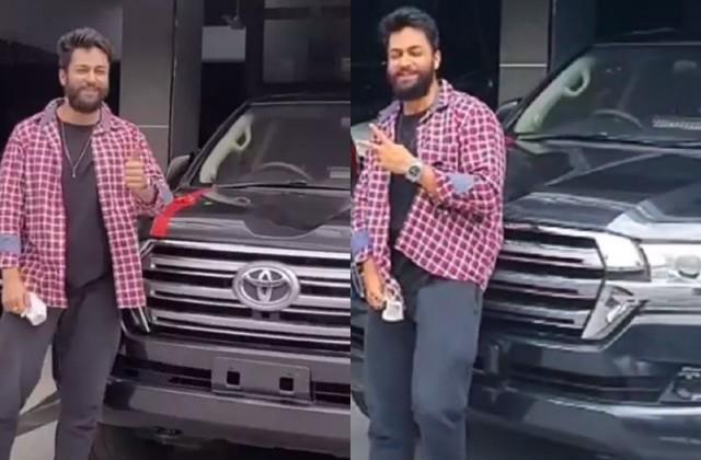 'सजदा तेरे प्यार में' फेम शालीन भनोट ने खरीदी 2 करोड़ की ब्लैक लैंड क्रूजर कार, वीडियो शेयर कर जाहिर की खुशी