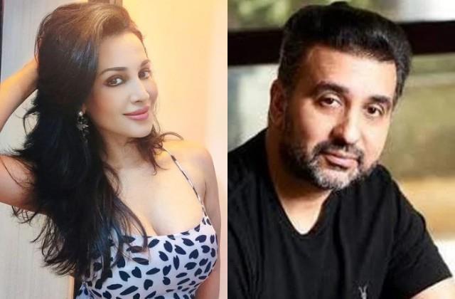 flora saini got angry on dragged name in raj kundra case