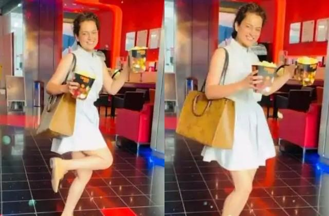 kangana watch movie after two years in theatre