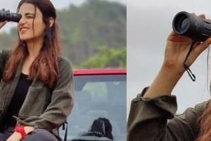 radhika madan went on jungle safari photos viral