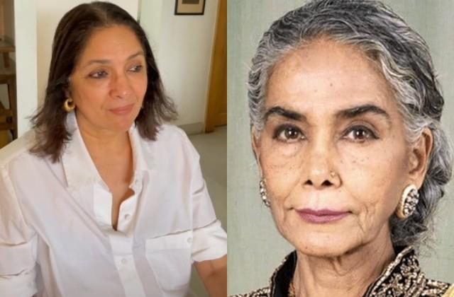 neena gupta broken by the death of surekha sikri
