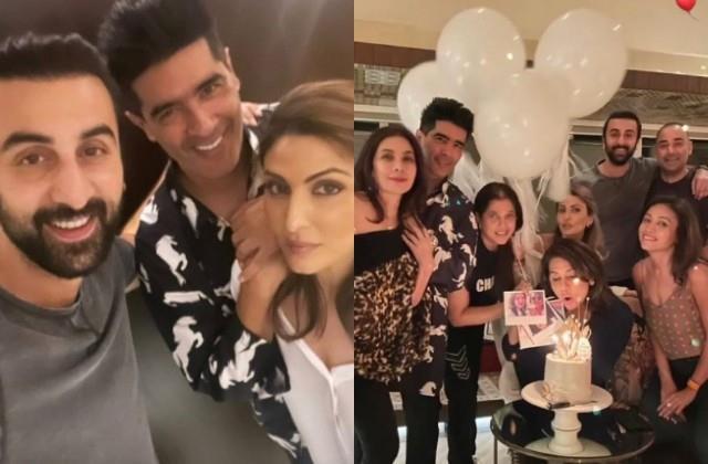 neetu kapoor post birthday celebration photos viral