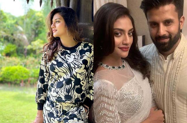nusrat jahan gives birth to baby boy ex husband nikhil jain sends wishes