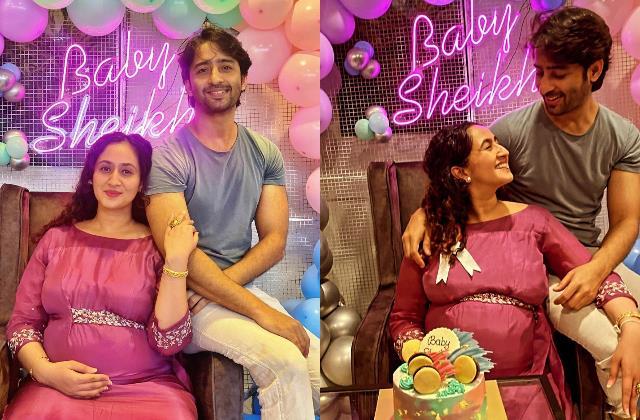 kuch rang pyar ke aise bhi fame shaheer sheikh wife baby shower pictures