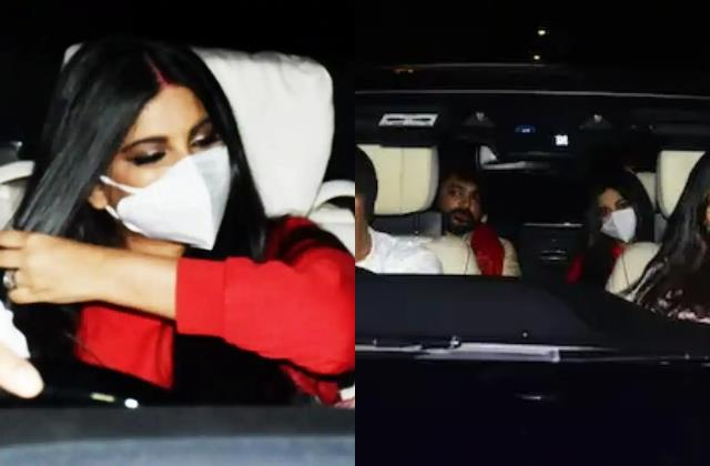 newlywed rhea kapoor karan boolani first picture out