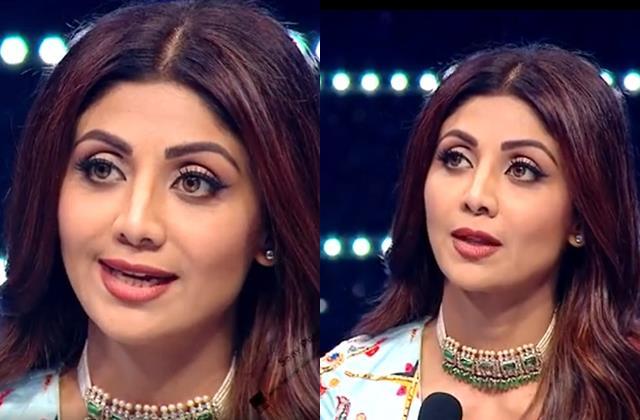 shilpa shetty spoke about women struggle in super dancer 4