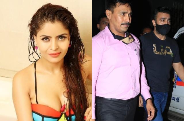gehana vasisth said mumbai police had demanded 15 lakh for not arresting her