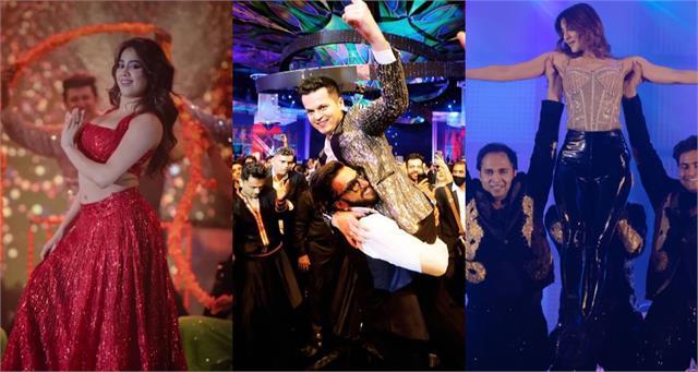 ranveer janhvi vaani kapoor dance singer shrey singhal pre wedding party