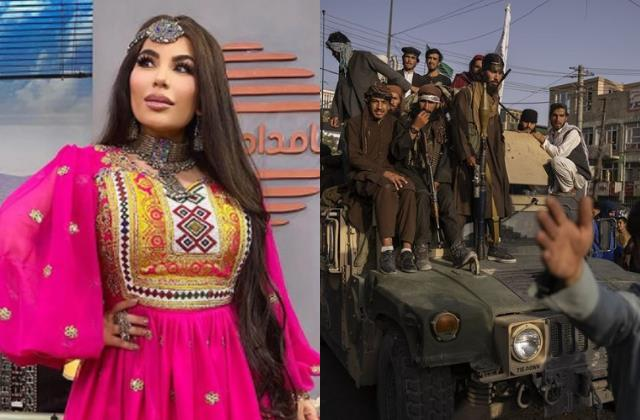 afghanistan pop star aryana sayeed blame pakistan for taliban crisis