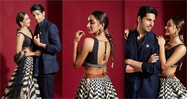 sidharth kiara look breathtakingly gorgeous as they pose together