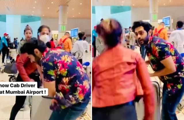 karan singh chabra was slapped by woman at airport