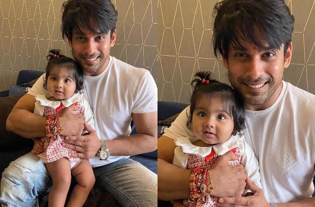 sidharth shukla shares an adorable picture with niece