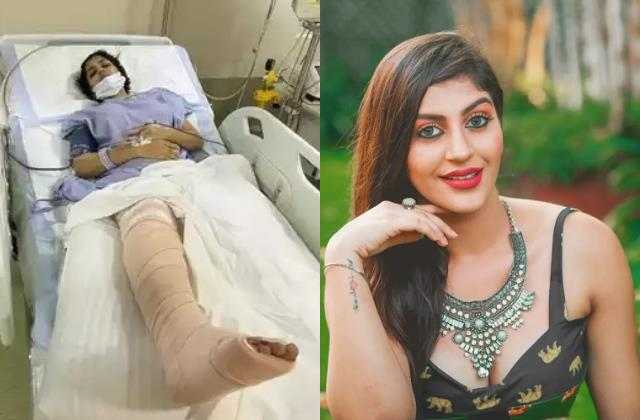tamil actress yashika anand underwent surgery after road accident