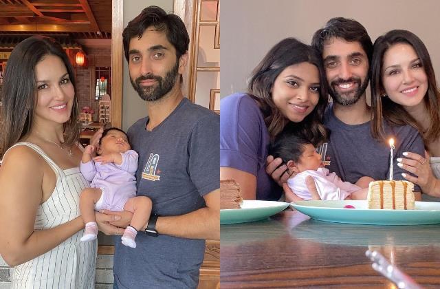 sunny leone becomes bua actress brother sundeep and bhabhi welcome baby girl