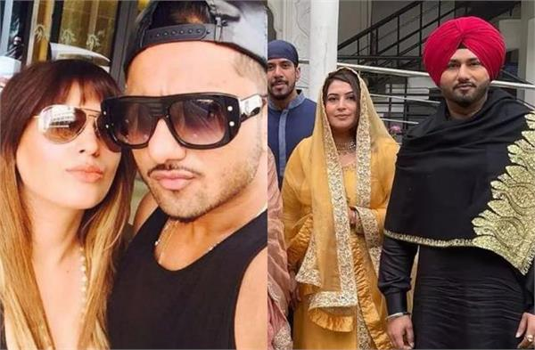 honey singh wife accuses father in law drunk walking into room and touch her