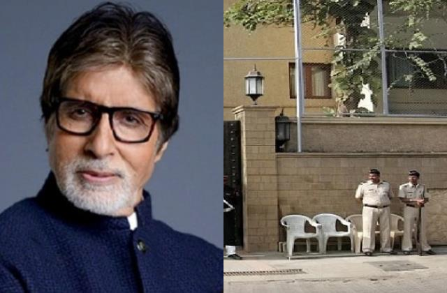 security heightened at amitabh bachchan bungalow after bomb threat call