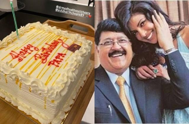 priyanka chopra celebrated late father ashok chopra birthday