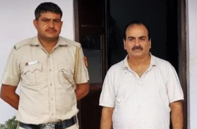 film producer ajay yadav arrested from mathura for cheated businessman