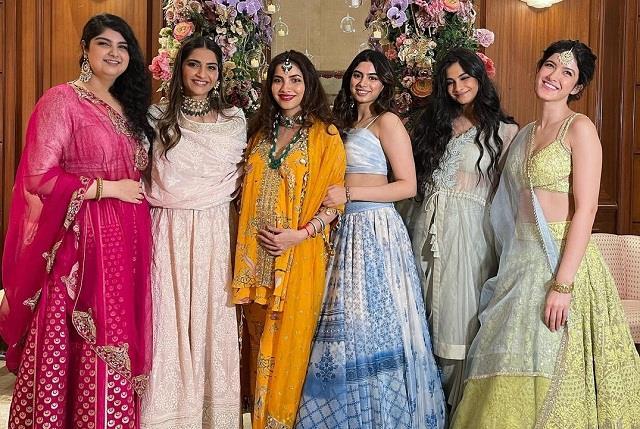 sonam kapoor shares baby shower ceremony photos