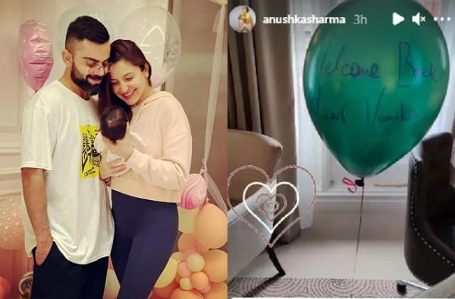 london hotel staff heartily welcome of anushka daughter vamika