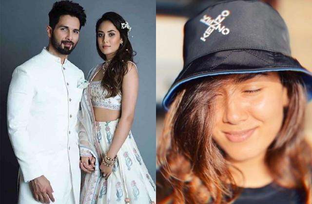 mira rajput shares her photo husband shahid kapoor comments