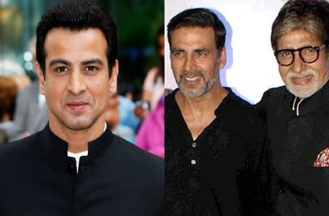 ronit roy thanked amitabh and akshay for support during corona period