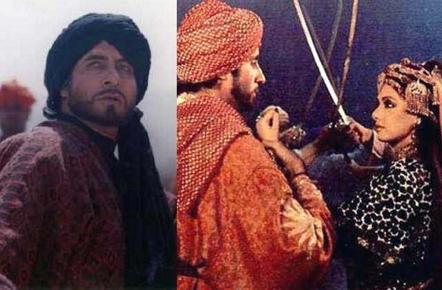 amitabh and sridevi had shot  khuda gawah  in the middle of war in afghanistan